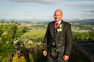 Wedding wallace monument stirling photography